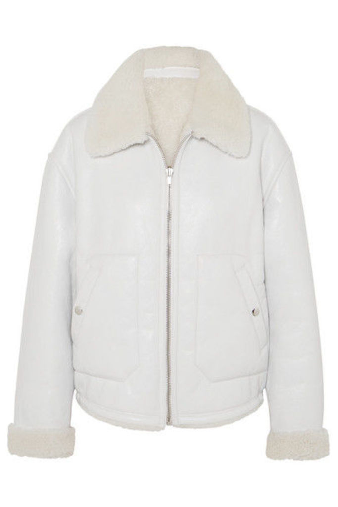 McQ Alexander McQueen - Reversible Shearling Jacket - Ivory