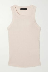 Vetements - Ribbed-knit Over-the-knee Sock Boots - Light gray