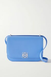 Chloé - Rylee Two-tone Glossed-leather Ankle Boots - Burgundy
