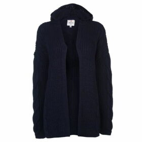 SoulCal Hooded Cardigan Ladies - Navy
