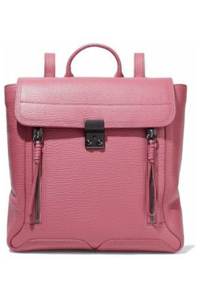 3.1 Phillip Lim Woman Pashli Textured-leather Backpack Pink Size -