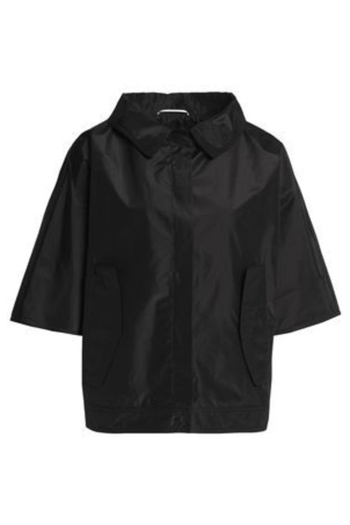 Rochas Woman Silk-shell Jacket Black Size 40