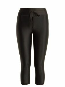 The Upside - Nyc Cropped Performance Leggings - Womens - Black