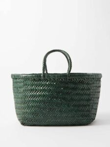 Figue - Milagro Polka Dot-print Silk-satin Shirt - Womens - Black
