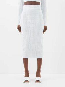 Le Sirenuse, Positano - Sun Arlechino Print Cotton Shirt - Womens - Blue Multi