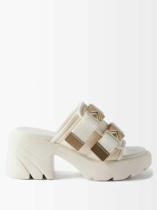 Raey - Long Line Fine Knit Cashmere Sweater - Womens - Navy