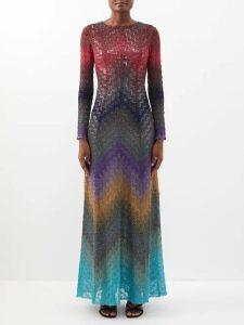 Isa Arfen - Halterneck Cotton-poplin Asymmetric Top - Womens - Navy Multi