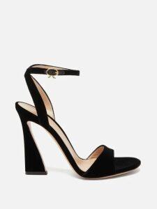 Giambattista Valli - Contrast Sleeve Silk Georgette Blouse - Womens - Ivory
