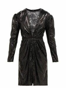 By. Bonnie Young - Asylum-print Wide-leg Silk-chiffon Trousers - Womens - Multi