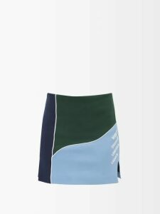 Ace & Jig - Farrah Gathered Neck Striped Cotton Blend Blouse - Womens - Multi