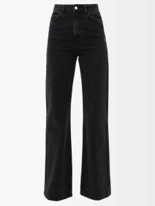 Vilshenko - Niamh Embroidered Cotton Blouse - Womens - Ivory Multi
