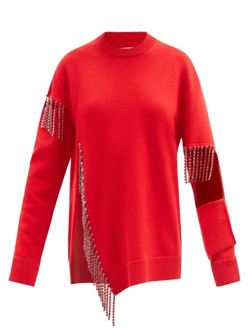 Moncler - Serpentine Quilted Down Embroidered Jacket - Womens - White