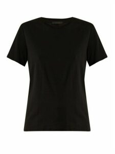 The Row - Wesler Short-sleeved Cotton-jersey T-shirt - Womens - Black