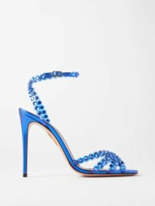 Haider Ackermann - V-neck Polka-dot Lace Cami Top - Womens - Black