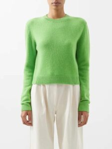 Kwaidan Editions - Annik Wide Leg Wool Trousers - Womens - Red