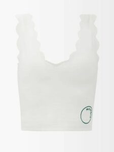 Raey - Long Line Fine Knit Cashmere Sweater - Womens - Nude
