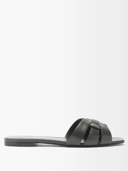 Dolce & Gabbana - High Rise Cropped Trousers - Womens - Black