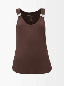 Altuzarra - Sorrel Button-embellished Wool-blend Pencil Skirt - Womens - Light Grey