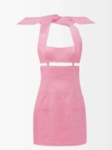 Sies Marjan - Terry Crinkled Wool-blend Blazer - Womens - Blue