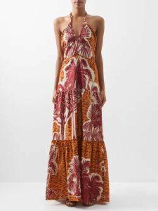 Stella Mccartney - Flare Sleeved Wool Sweater - Womens - Light Grey