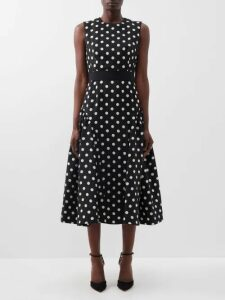 Raey - Long Line Fine Knit Cashmere Sweater - Womens - Charcoal