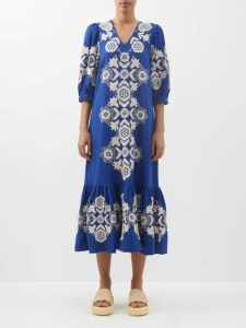 Chloé - Gathered-neck Balloon-sleeve Blouse - Womens - Cream