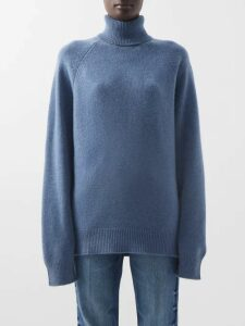 Erdem - Rosabel Mariko-meadow Silk Blouse - Womens - Blue Print