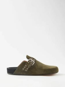 Roksanda - Lada V Neck Silk Blouse - Womens - Blue Multi
