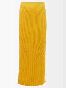Roksanda - Elsta Wool Roll Neck Sweater - Womens - Burgundy Multi