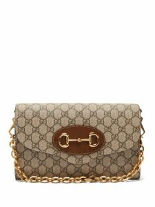 Muveil - Peplum-hem Floral-embroidered Silk Blouse - Womens - Cream
