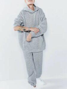 Raey - Elasticated-waist Cashmere-blend Track Pants - Womens - Grey