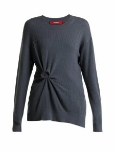 Sies Marjan - Brynn Rosette Cashmere Sweater - Womens - Grey