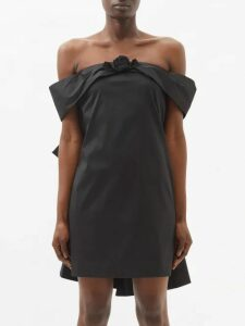 Hillier Bartley - Contrast-panel Cashmere Sweater - Womens - Black Pink