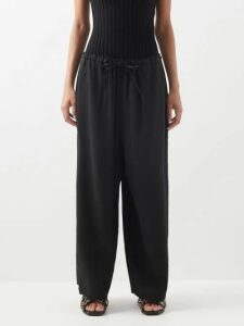 Raey - Pocket Front Cashmere Midi Dress - Womens - Charcoal