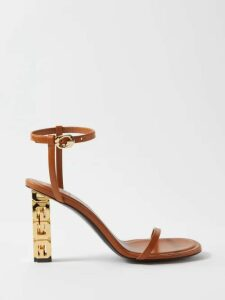 Valentino - High-neck Chantilly-lace Blouse - Womens - Pink