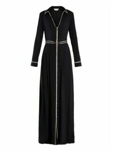 Gabriela Hearst - Lempicka Silk Crepe De Chine Gown - Womens - Navy