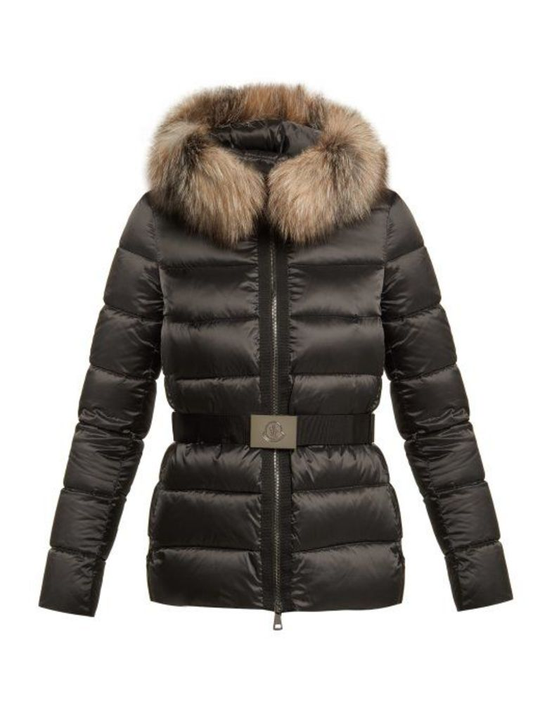 Moncler - Tatie Quilted Down Jacket - Womens - Black