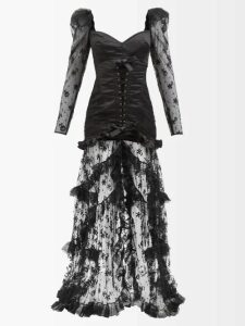 Roksanda - Mila Striped Satin Blouse - Womens - Green Stripe
