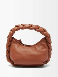 Saint Laurent - Pussy Bow Silk Blend Lamé Blouse - Womens - Silver Gold