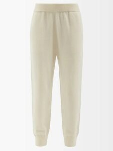 Anna October - Striped Midi Dress - Womens - Light Blue
