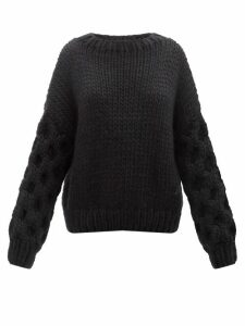 Bella Freud - Close To My Heart Cashmere Sweater - Womens - Black