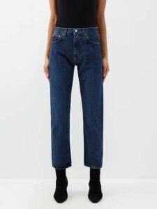Halpern - Sequin-embellished High-neck Top - Womens - Blue Multi