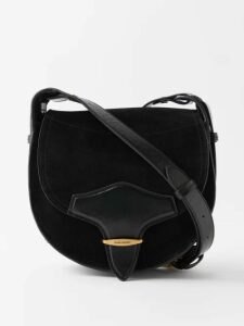 Luisa Beccaria - Striped-jacquard Panelled Skirt - Womens - Pink Stripe