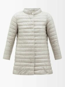 Mary Katrantzou - Lily Polka-dot Detail Sleeveless Shirt - Womens - Red Navy