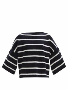 Balenciaga - Twisted-sleeve Floral-print Crepe Blouse - Womens - Multi