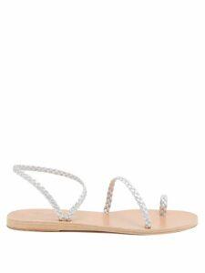 Preen By Thornton Bregazzi - Melena Camouflage-print Ruffle Skirt - Womens - Multi