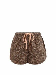 Isa Arfen - Victoria Square Boat-neck Silk-taffeta Top - Womens - Black