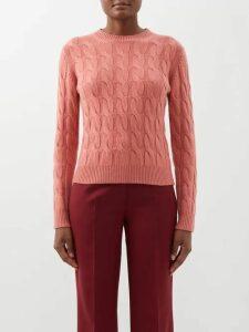 Vika Gazinskaya - High-neck Stretch-jersey Top - Womens - Light Green