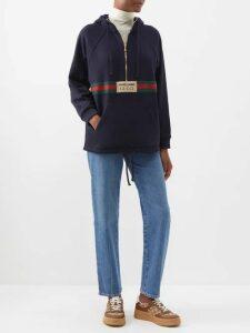 Ellery - Blasphemy High-neck Cady Top - Womens - Dark Red