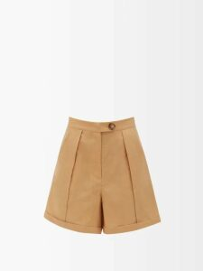 Valentino - High-neck Zip-through Jersey Track Top - Womens - Pink